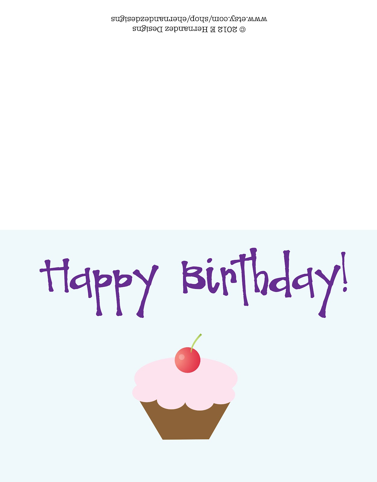 happy birthday card template free – Birthday Cards to Print for Free