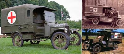 Curiosas ambulâncias antigas