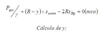 Ejercicio resuelto de estatica de fluidos formula 2 problema 3
