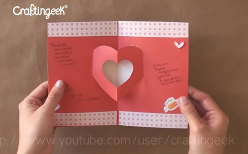 como hacer tarjetas pop