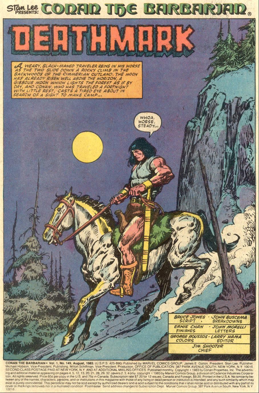 Conan the Barbarian (1970) Issue #149 #161 - English 2