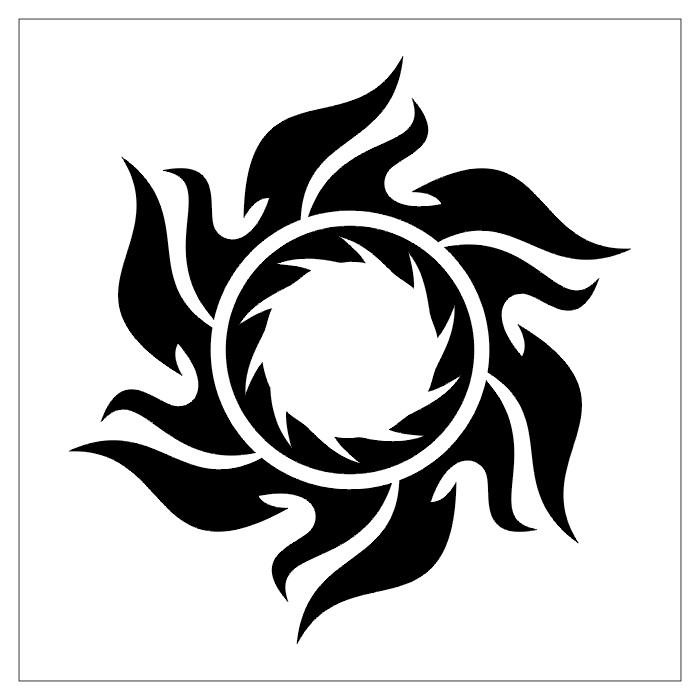 Tattoo Designs Stencils: TATTOOS: Circular Tattoo Stencils # 2
