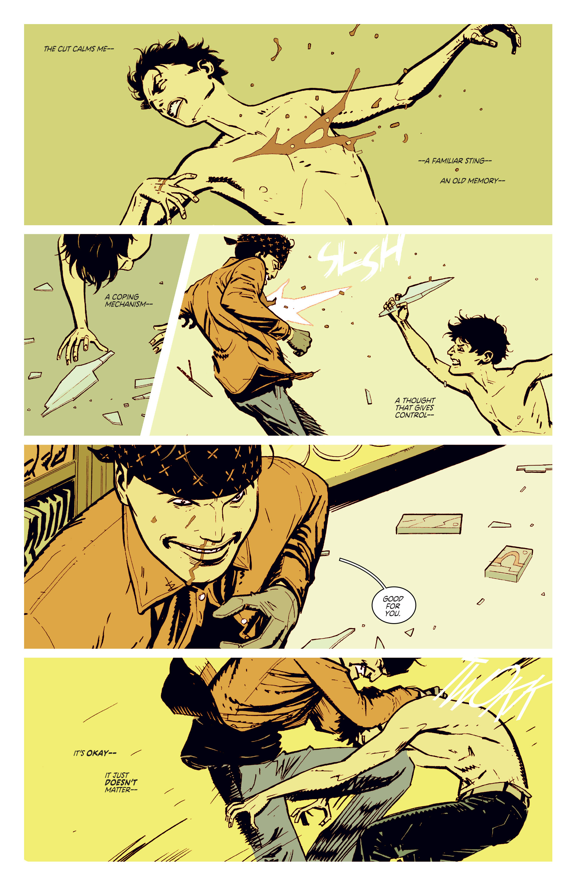 Read online Deadly Class comic -  Issue #5 - 23
