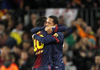 Adriano celebra el gol del empate