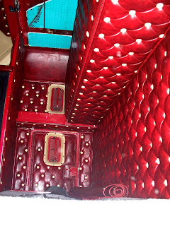 1981 Kenworth W-900A Aerodyne Naugahyde Interior Jax Wax Customer