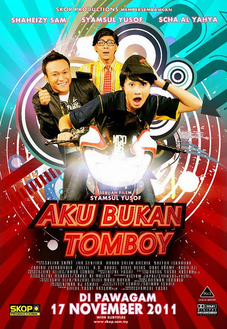 Aku bukan tomboy movie