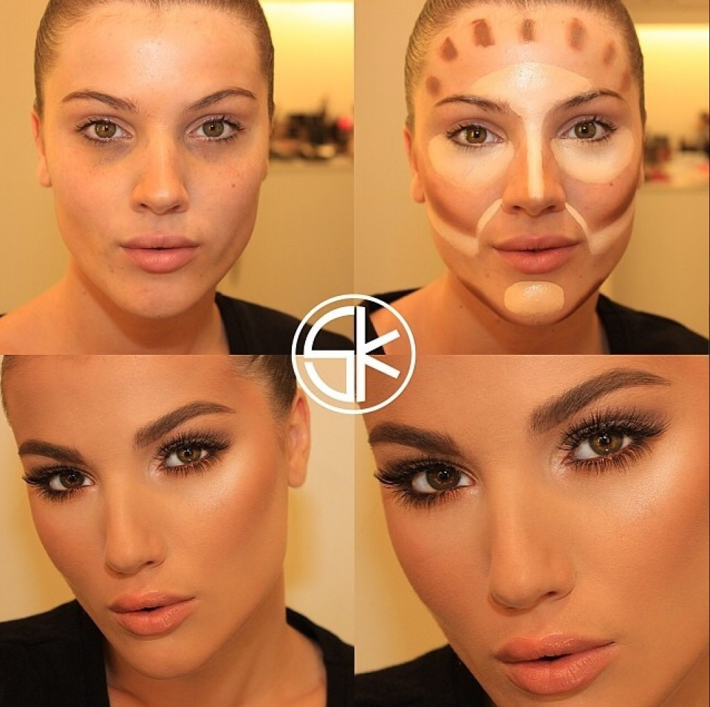 Секреты нанесения макияжа фото