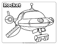 little einsteins coloring pages rocket