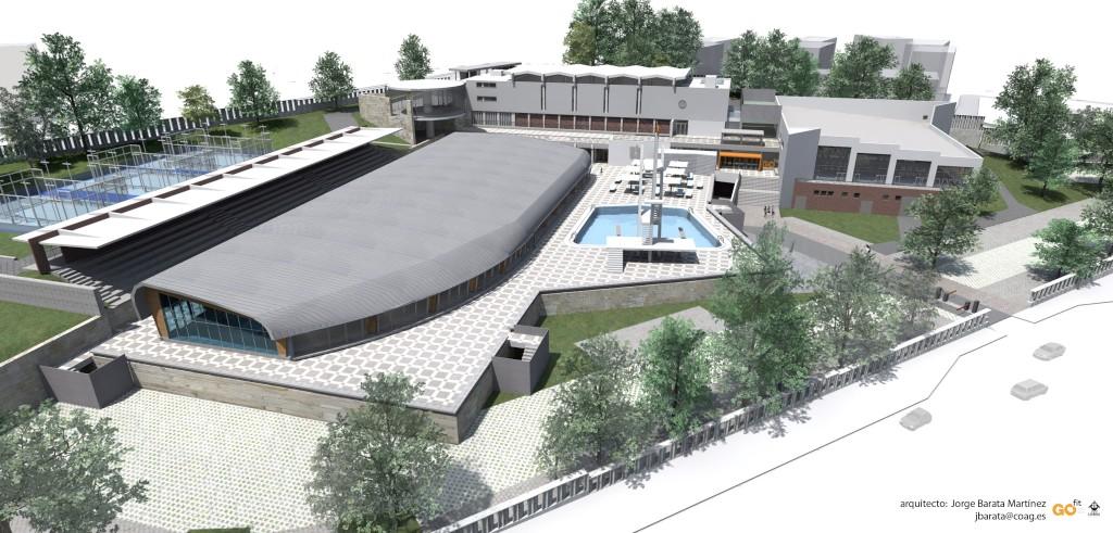 Lx projectos piscinas dos olivais requalifica o for Piscina 50 metros pontevedra