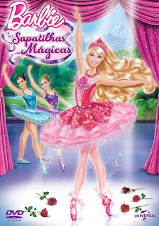 Barbie e as Sapatilhas Mágicas   DVDRip AVI + RMVB Dublado