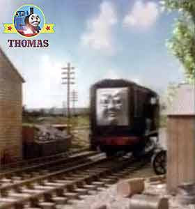 Pop Goes the Diesel Thomas and friends Duck the great western engine black Diesel the tank engine