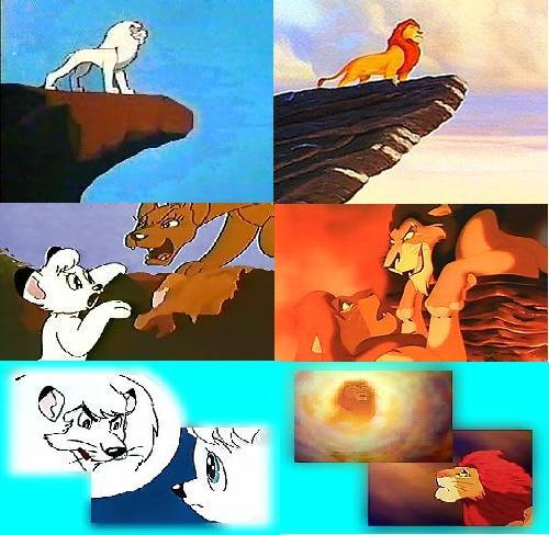 ¿Crees que TLK es copia de Kimba el león blanco? Simba%2Bvs%2Bkimba-745481