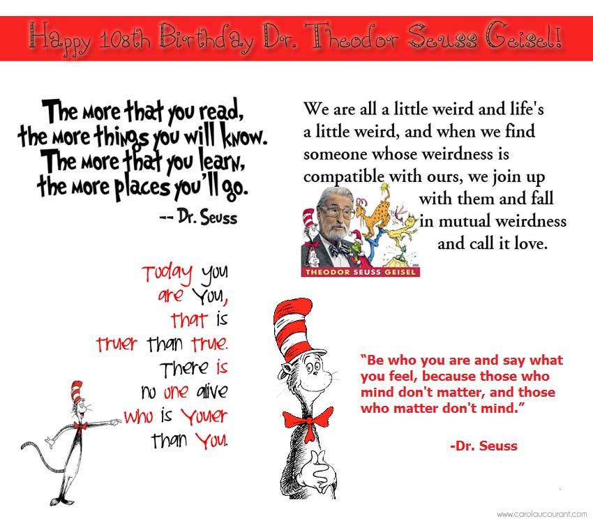 Dr Seuss Birthday Quotes   Birthday Wishes To A Dr Of Giggles Imagination Cac