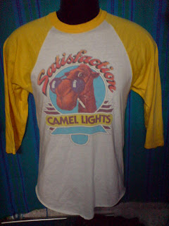 vintage  camel lights 1980