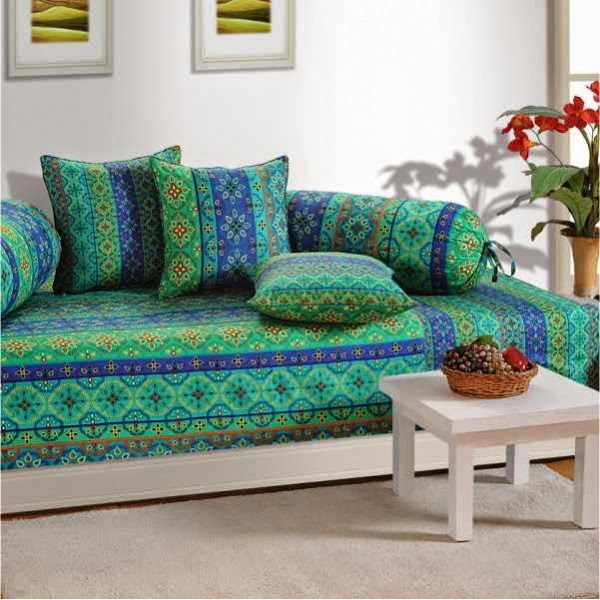 Swayam india primp up the look of your diwans for Diwan set furniture