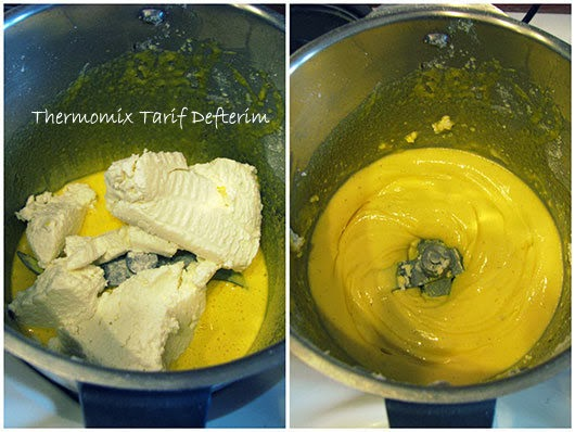 Making Chocolate Covered Ricotta Tart with Thermomix