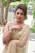 Madhu Shalini sizzling in saree-thumbnail-8