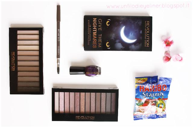 Haul Maquillalia: Palette Make up Revolution