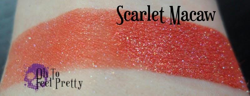 Scarlet Macaw Swatch