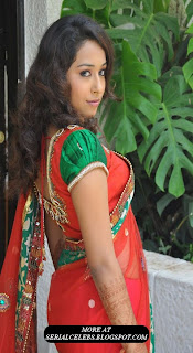 Zeba in Low hip saree