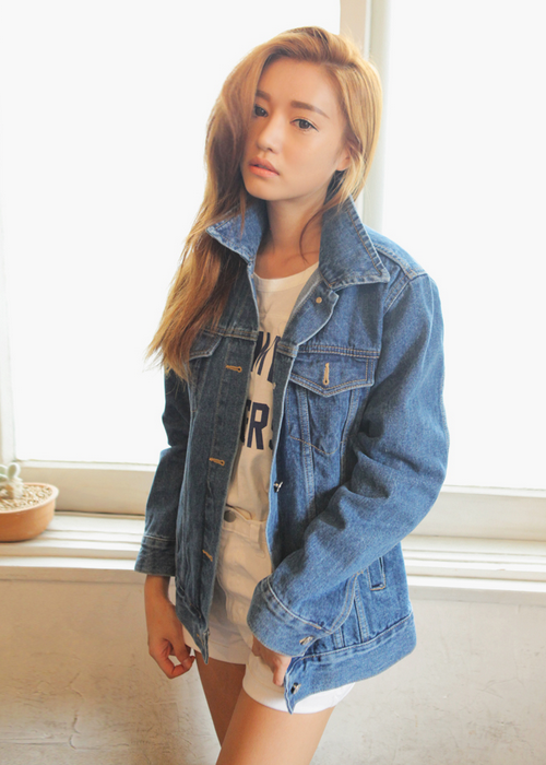 Dark Denim Shirt Women