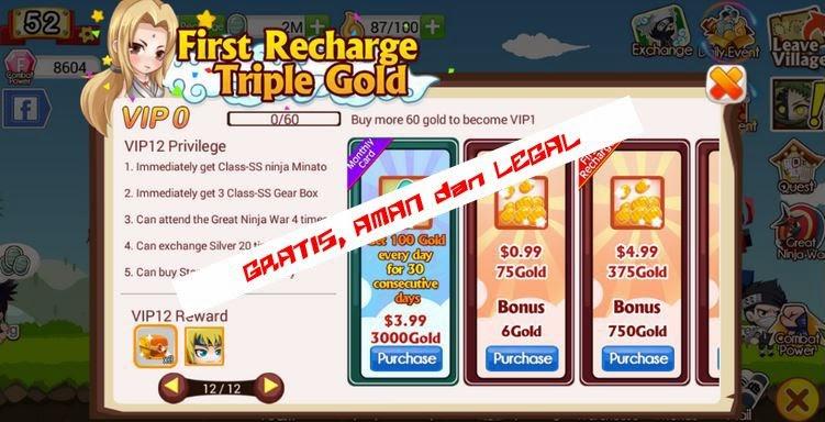 beli-gold-gratis-ninja-heroes