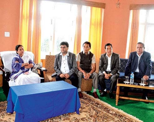 Mamata attends sixth bipartite meeting with GTA in Kalimpong,GJMM seeks free hand for GTA