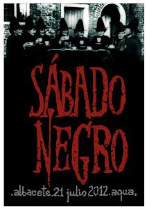 Cartel del Sábado Negro Albacete