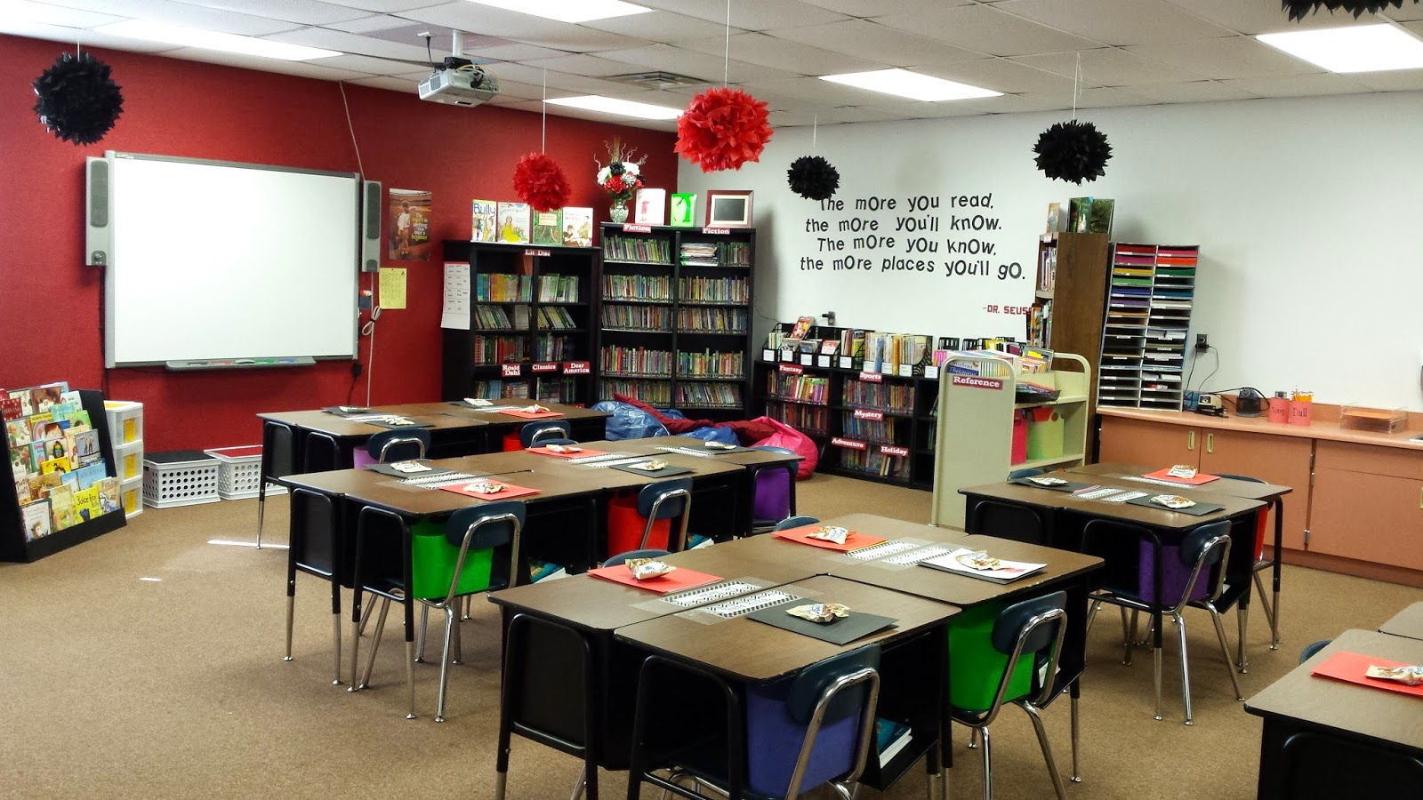Red Classroom Decor ~ Black and red classroom pictures to pin on pinterest