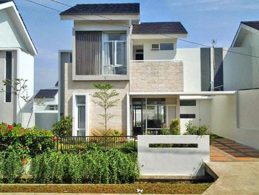 desain rumah minimalis 2 lantai type 60 gambar foto