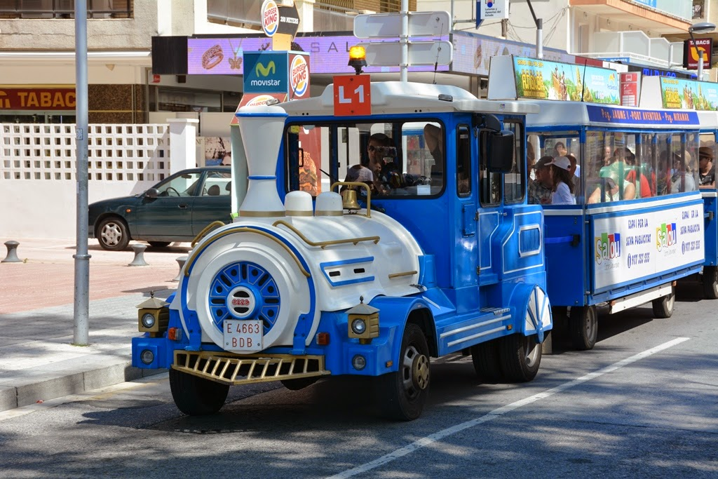 Salou tourist train
