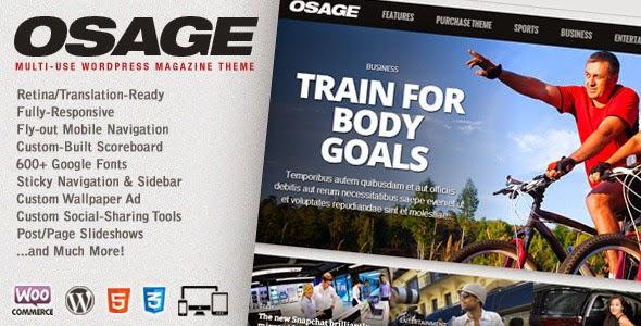 Osage - Multi-Use WordPress Magazine Theme Download