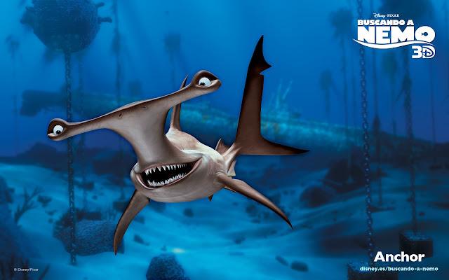 Wallpaper de la película de Pixar buscando a Nemo, Anchor