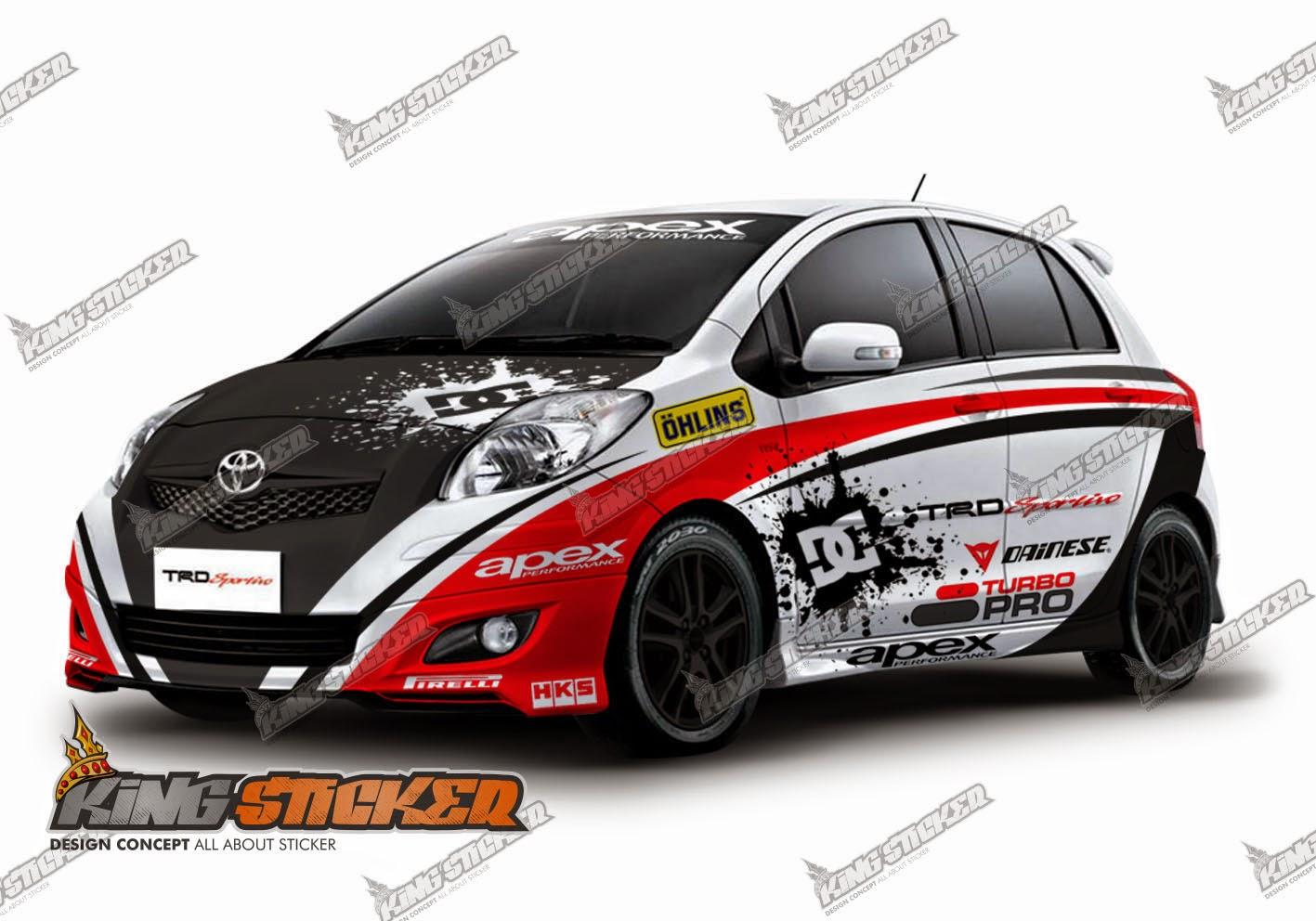 Stiker Modifikasi Mobil >> Design Cutting Sticker Mobil | Joy Studio Design Gallery - Best Design