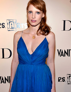 Medium Hairstyle Jessica Chastain