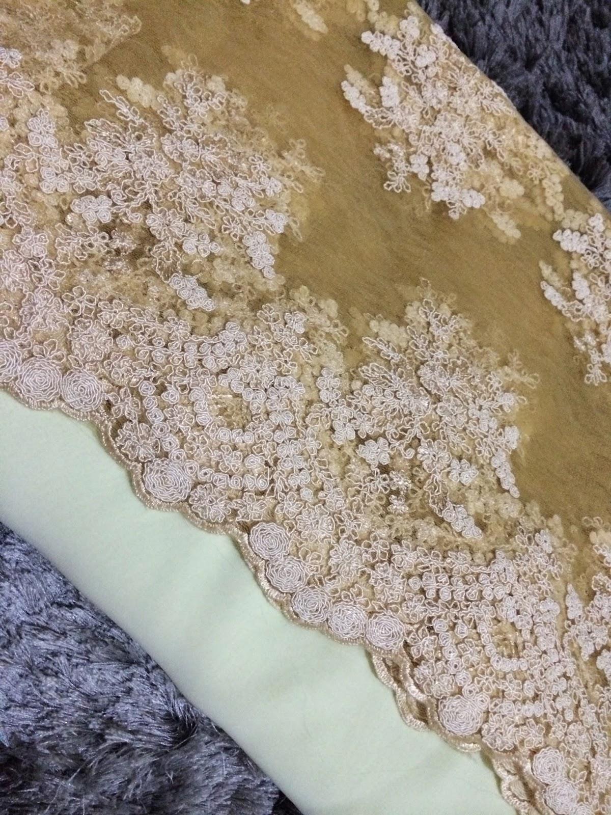 Bandung Kain Nikah Lace Chiffon Satin Silk Etc