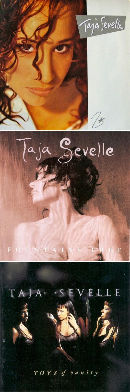 Taja Sevelle - Taja Sevelle (1987), Fountains Free (1991) & Toys Of Vanity (1997) TRIPLE POST!!!