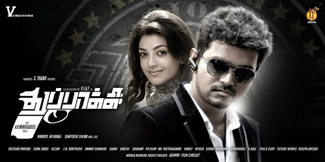 Vijays Thuppaki (2012) Audio Songs Free Download cover poster