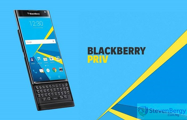 BlackBerry Priv Official Pic