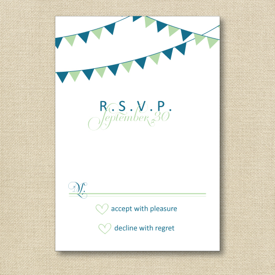 Welcome to mary harris events how to fill out an rsvp card