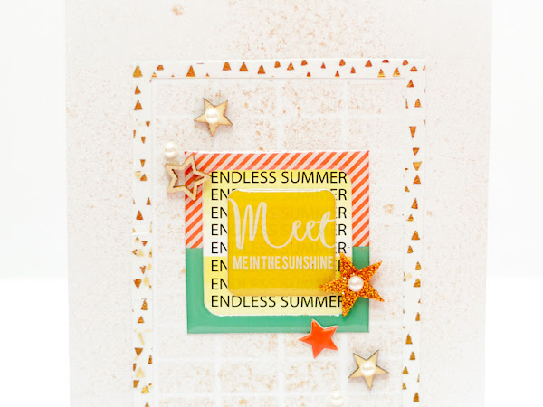 PinkFresh Studio Design Team : Endless Summer Card