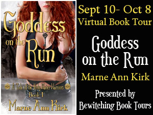 {Guest Post+G!veaway} Goddess on the Run by Marne Ann Kirk