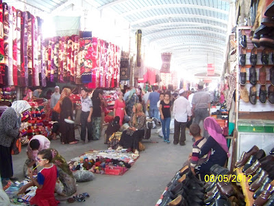 marché près du centre ville