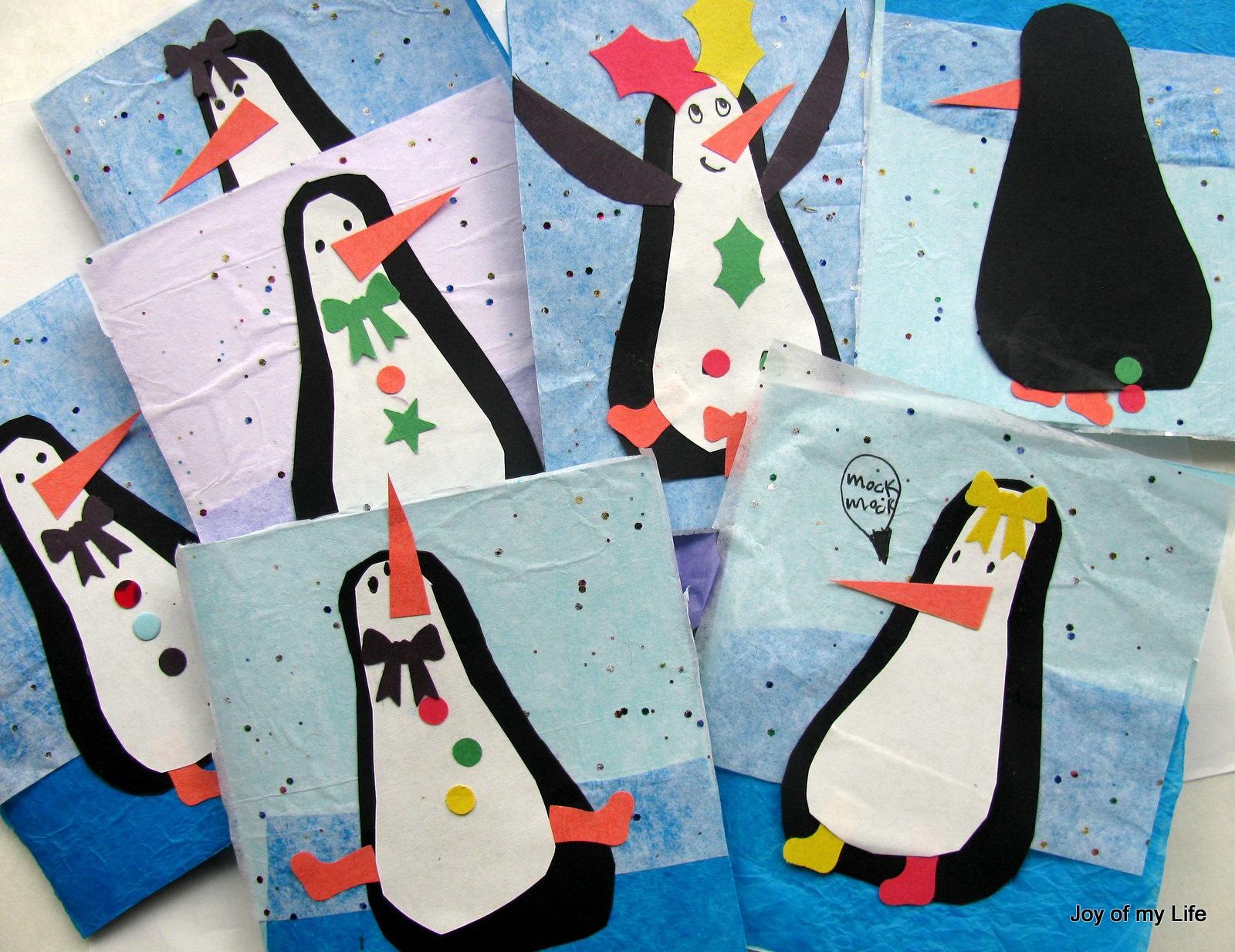 The joy of my life and other things kids craft silly penguins kids craft silly penguins greeting cards kristyandbryce Gallery