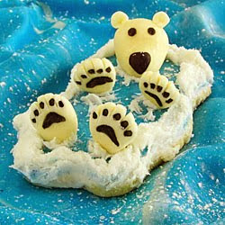 Back Float Bear Cookies