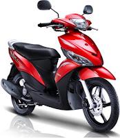 Yamaha Mio J scooter