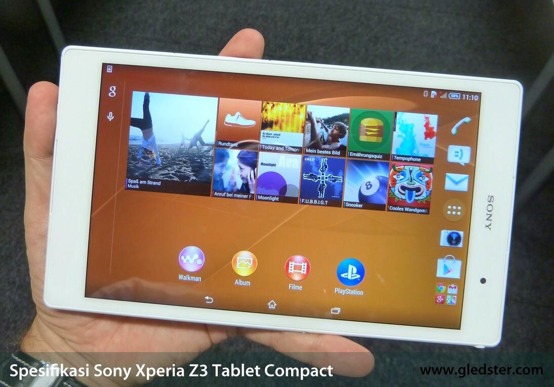 Spesifikasi Sony Xperia Z3 Tablet Compact