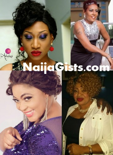 nollywood actress marry colleague ex husband