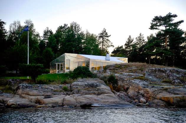 TOP 7 UNIQUE HOUSE DESIGN: VESTFOLD ALUMINUM HOUSE CABIN DESIGN WITHIN THE STUNNING SEASIDE ARCHIPELAGO