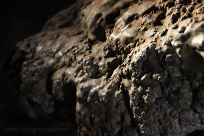 Detalhes do interior da gruta da Lapinha, em Lagoa Santa - Minas Gerais